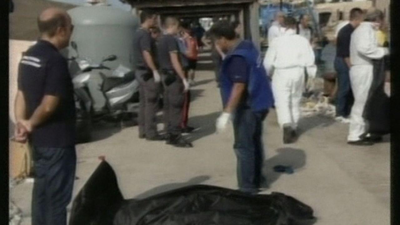 Opérations de sauvetage à Lampedusa [RTS]
