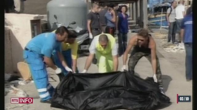 Un bateau transportant environ 500 migrants a fait naufrage jeudi matin près de Lampedusa en Sicile [RTS]