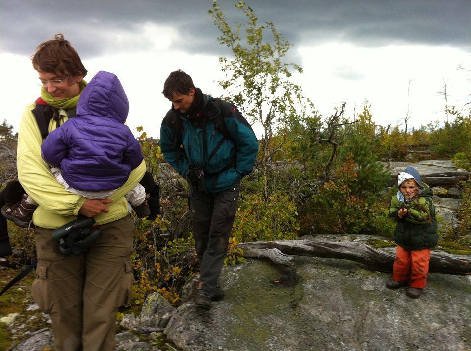 La famille Delaloye en Suède. [RTS]