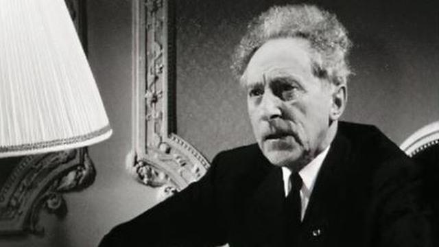 Jean Cocteau en 1962.