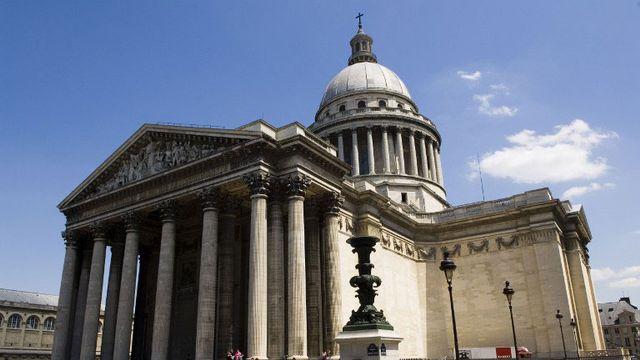 Le Panthéon est situé dans le quartier latin à Paris. [Frank Peterschröder - Bilderberg/AFP]