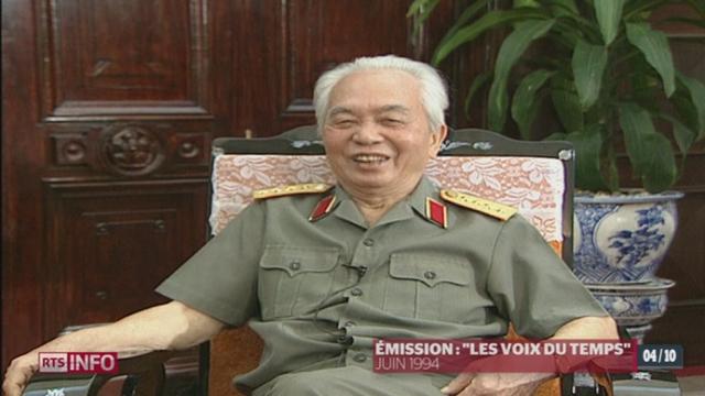 Décès de Võ Nguyên Giáp- Retour sur une interview donnée par le général vietnamien en 1994 [RTS]
