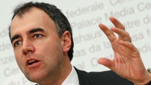 Christophe Darbellay. [Pascal Lauener - Reuters]