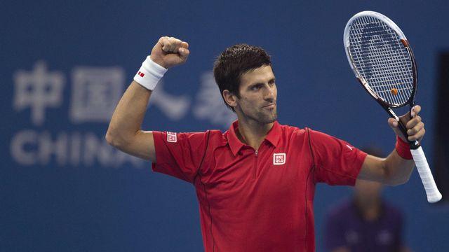 Novak Djokovic n'est plus no1 mondial, mais il est toujours bien là! [Andy Wong   - Keystone]