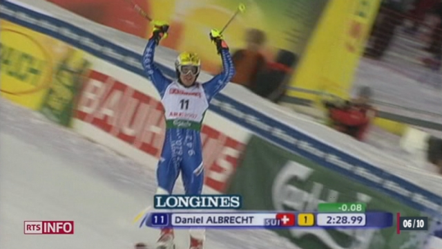 Le skieur valaisan Daniel Albrecht met un terme à sa carrière à 30 ans [RTS]