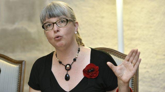 Michèle Künzler se retire de la vie politique [/Martial Trezzini - Keystone]