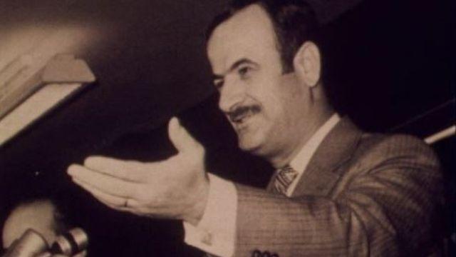 L'homme fort de Damas, Hafez el-Assad, dans les années 70. [RTS]