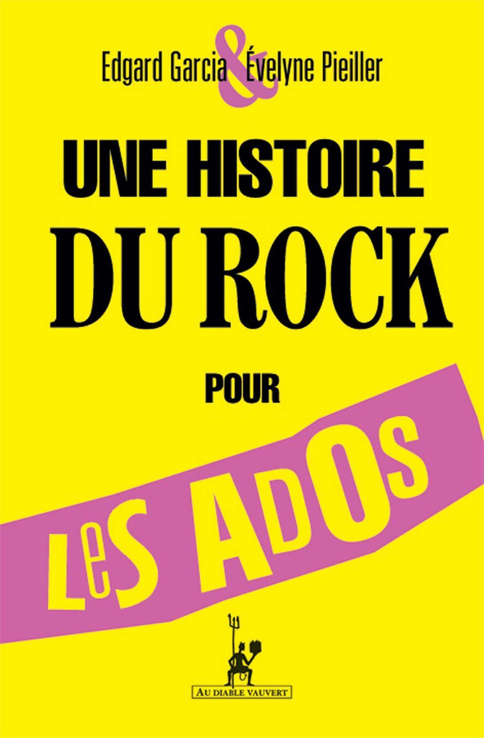 "Edgard Garcia - Evelyne Pieiller ""Une histoire du rock pour les ados "". [RTS]"