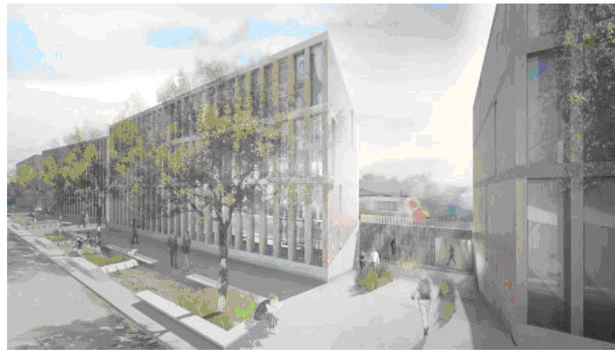 Le projet du futur campus universitaire jurassien a été dévoilé