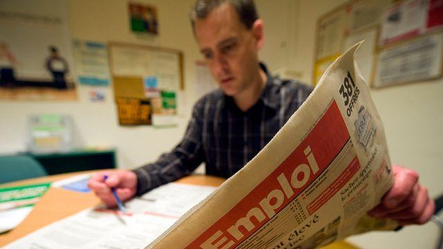 Sur un an, le nombre des chômeurs en Suisse enregistre une hausse de 8,9%. [Laurent Gillieron - Keystone]