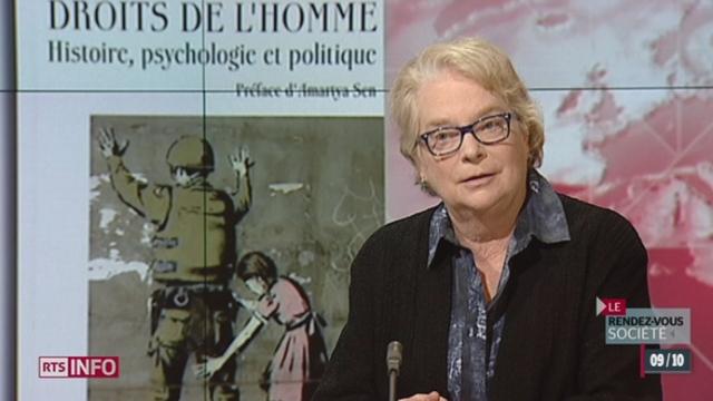 Rendez-vous société: l'historienne Lynn Hunt se penche sur les 65 ans de la déclaration universelle des droits de l'homme [RTS]