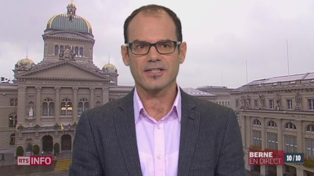 41% des Suisses en surpoids: entretien avec Marco Storni, chef de projet à l'office fédéral de la statistique [RTS]