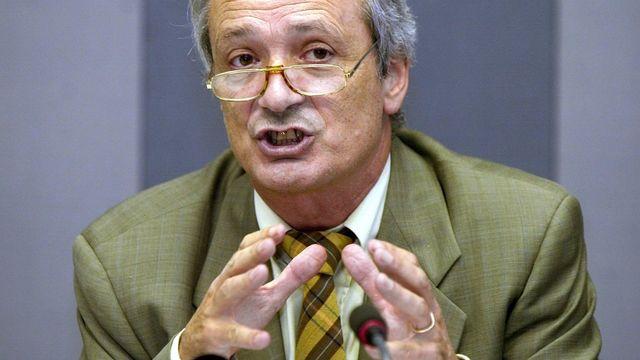 Franco Cavalli, oncologue, conseiller national jusqu'en 2007. [Edi Engeler  - Keystone]