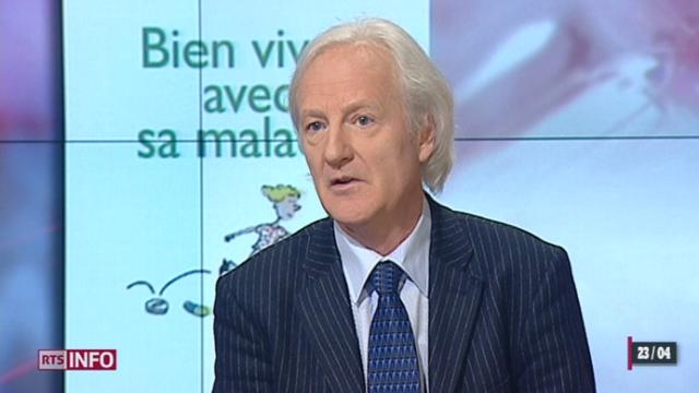 L'invité culturel: le professeur Alain Golay donne des conseils pour vivre convenablement avec certaines maladies [RTS]