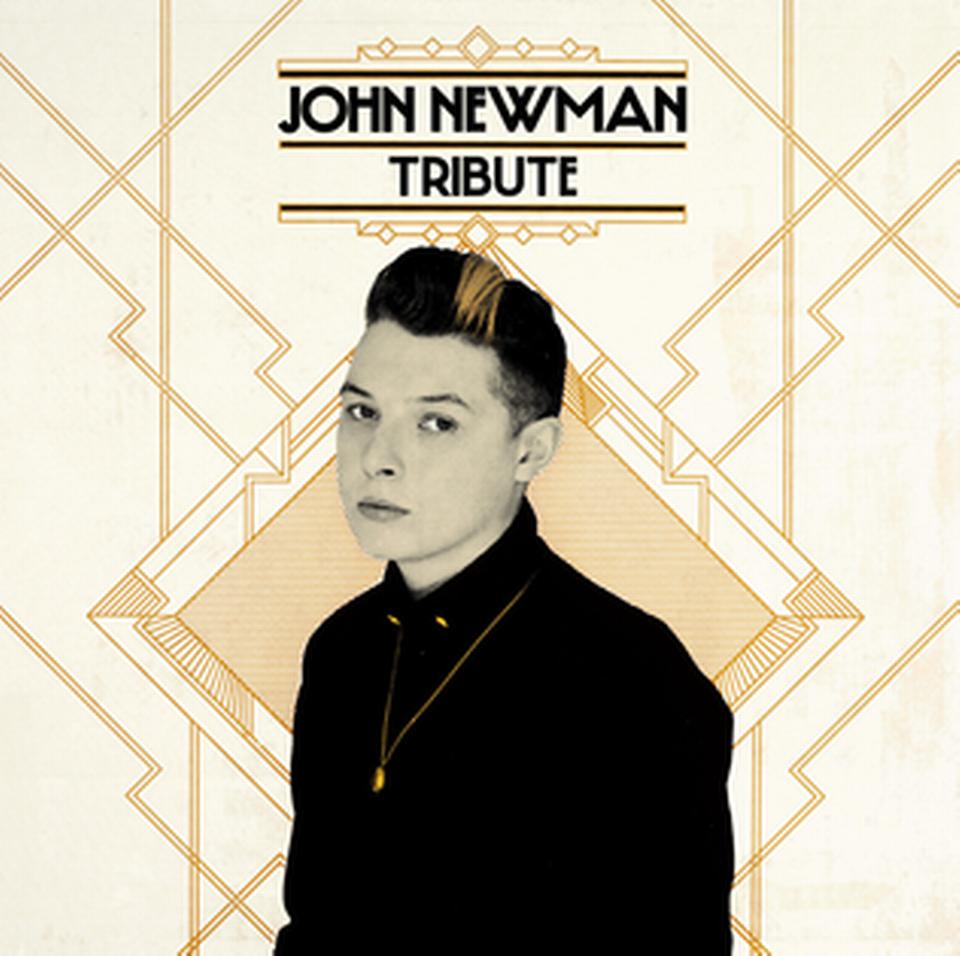 "La pochette de ""Tribute"" de John Newman. [Island UK]"