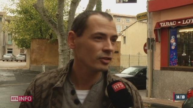 France- Le Front National pavoise suite à son succès dans l'élection cantonale de Brignoles [RTS]