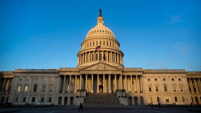 Le Capitole à Washington où se réunit le Congrès américain. [Jim Lo Scalzo - Keystone]