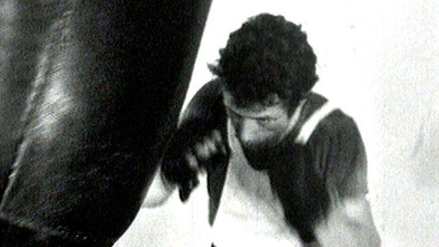Fritz Chervet à l'entraînement. [RTS]