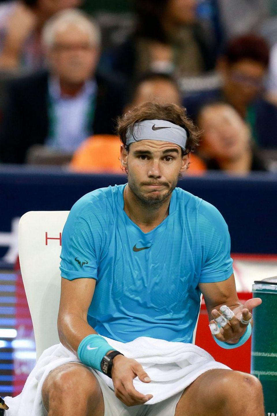 Nadal veut garder des forces pour les derniers grands rendez-vous de la saison. [Xi Ya - Keystone]