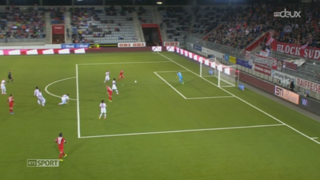 Football - Super League (12e j.): FC Thoune - FC Sion (1-0) [RTS]