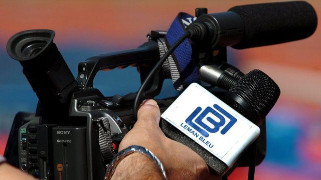 Changement à la tête de la TV régionale Léman bleu [Laurent Gillieron - Keystone]