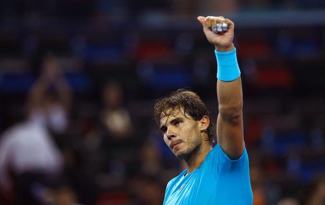 Nadal a dominé de la tête et des épaules la saison 2013. [Carlos Barria - Reuters]