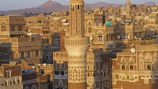 La vieille ville de Sanaa. [Bruno Morandi - Hemis.fr / AFP]