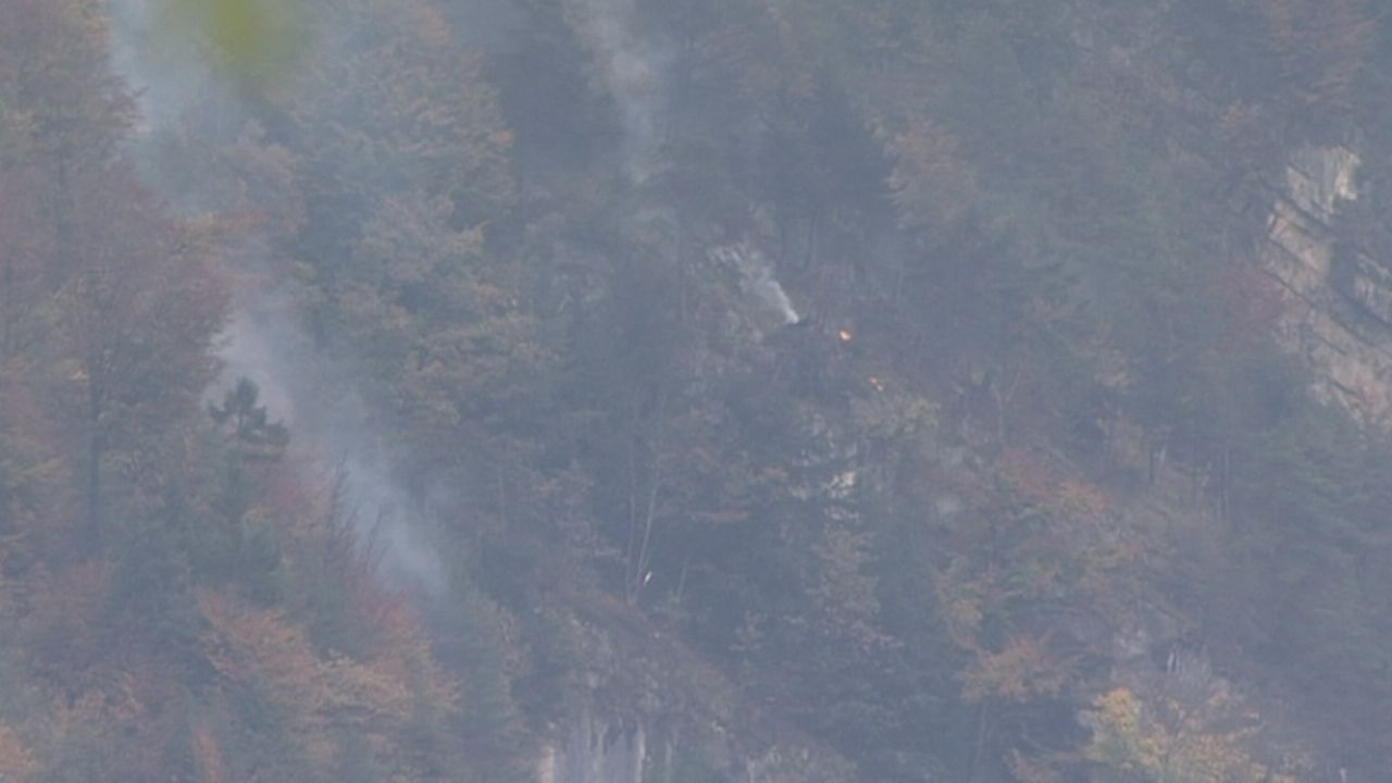 Premières images du crash du FA-18 [RTS]