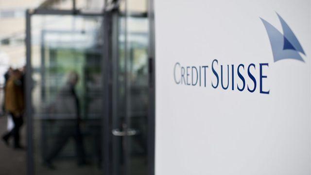 Credit Suisse enregistre un bénéfice pour son premier trimestre 2013. [Ennio Leanza - Keystone]