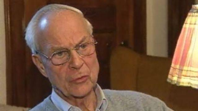 Rudolf Friedrich, ex-conseiller fédéral, en 2001. [RTS]