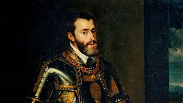Portrait de Charles Quint par Rubens.