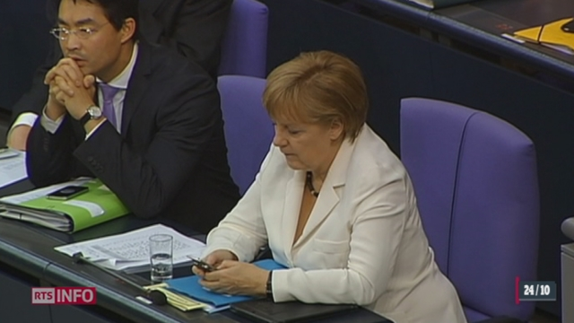 La NSA aurait mis Angela Merkel sur écoute [RTS]