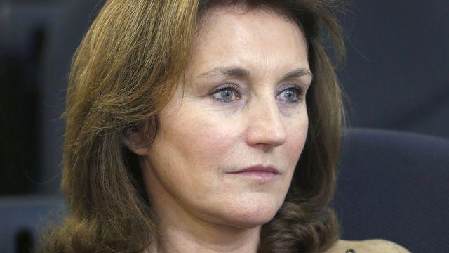 "Cécilia Attias livre ""sa vérité"". [Fadi Al-Assaad - Reuters]"