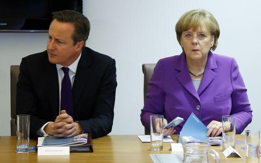 """Tandis que Berlin travaille, avec le Brésil, à la préparation d'une résolution à l'ONU sur la protection des libertés individuelles, Londres ne veut pas froisser Washington et refuse de prendre part aux négociations sur l'instauration d'un """"code de bonne conduite"""" en matière d'espionnage. [Yves Herman - AFP]"""