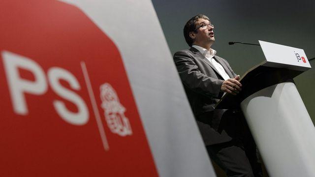 Christian Levrat, président du Parti socialiste suisse. [Laurent Gillieron - Keystone]