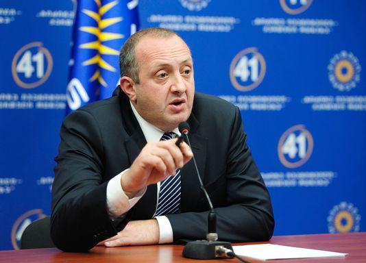 Guiorgui Margvelachvili serait élu au premier tour de la présidentielle géorgienne, selon les sondages. [RIA Novosti/Alexander Imedashvili - Keystone]
