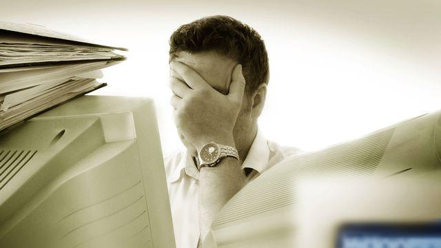 Stress, burn-out et dépressions sont monnaie courante aujourd'hui, même chez les politiques. [Mikael Damkier ]