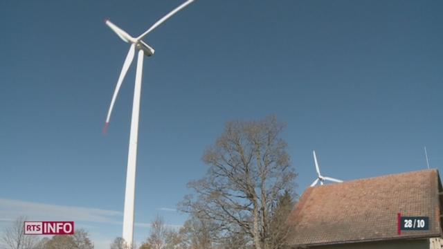 Un rapport rend compte de l'opinion des personnes vivant près d'éoliennes [RTS]