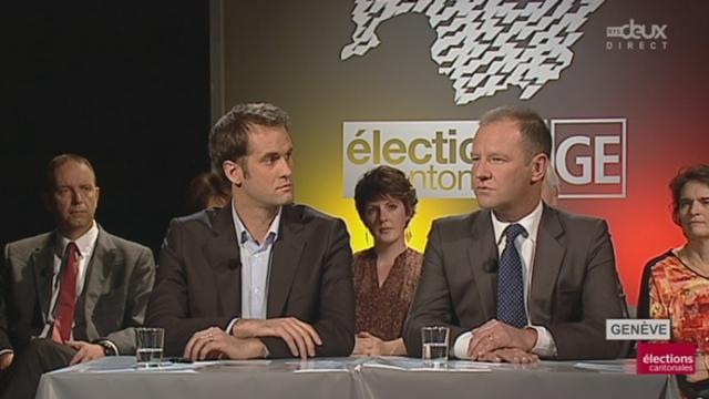 Débat pour le second tour des élections cantonales genevoises [RTS]