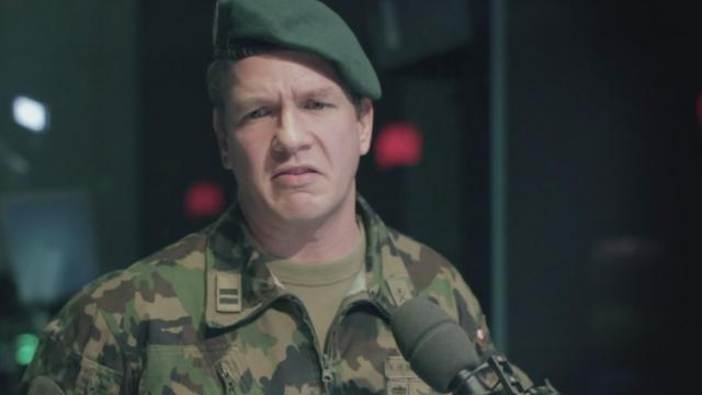 L'armée ne communique pas bien avec le Parlement [RTS]