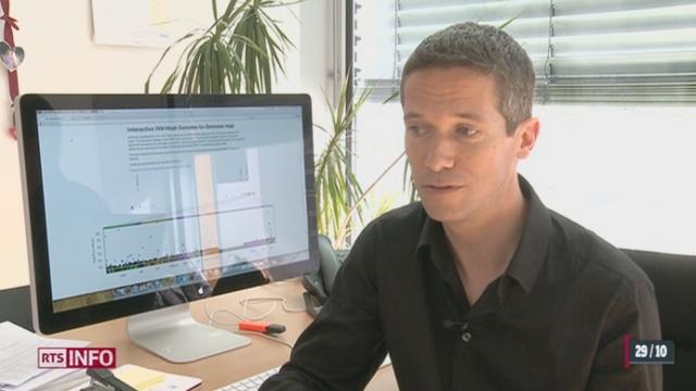 Des chercheurs suisses s'intéressent de près aux résistances humaines face au virus du SIDA [RTS]