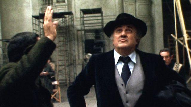 Fellini sur le tournage de Casanova, en 1976. [RTS]