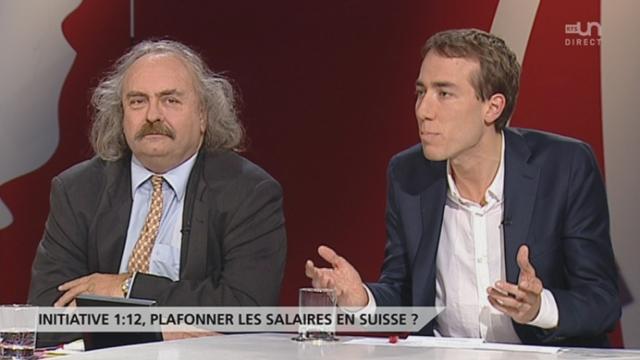 Spécial Votation - Initiative 1:12: plafonner les salaires en Suisse ? [RTS]
