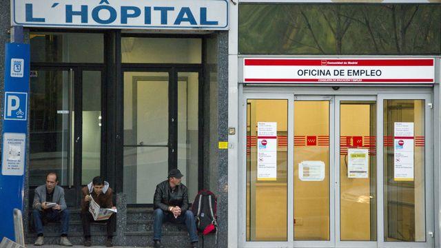 Le taux de chômage a encore progressé en novembre en Espagne. [Dominique Faget - AFP]