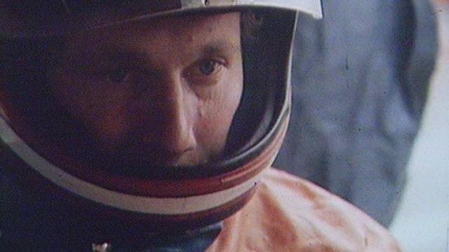 Le pilote moto Jacques Cornu en 1981. [RTS]