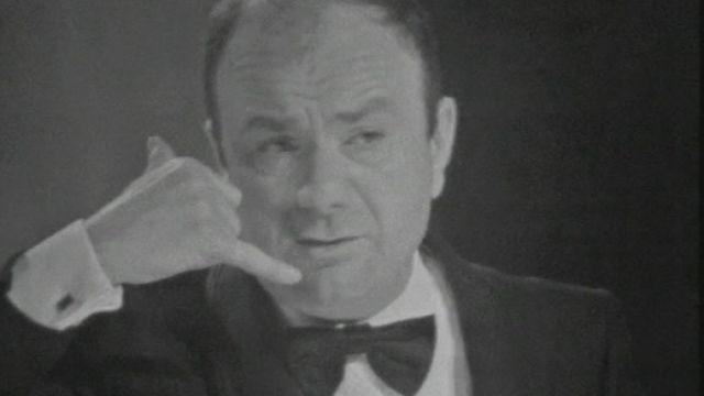 Fernand Raynaud en 1972. [RTS]