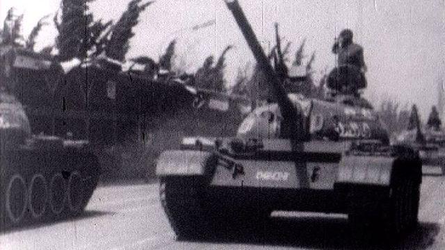 Coup d'état militaire en Syrie en 1963. [RTS]