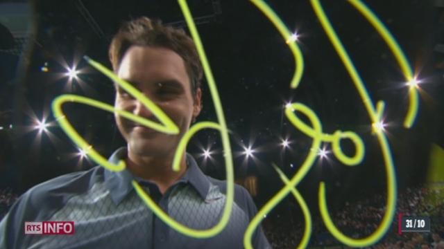 Tennis- Paris-Bercy: Roger Federer et Stanislas Wawrinka remportent leur pari [RTS]