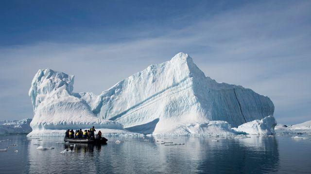 Les eaux de l'Antarctique sont l'une des zones les plus préservées du monde. [AP Photo/Aurora Expeditions, Andrew Halsall - Keystone]
