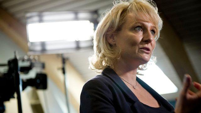 Pour la PLR Isabelle Moret, l'initiative entraînerait une perte fiscale de 1,4 milliard de francs. [Jean-Christophe Bott - Keystone]